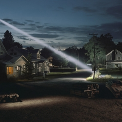 """Beneath The Roses"" is the latest collection of eerie, cinematic suburban shots  from epic American photographer Gregory Crewdson."