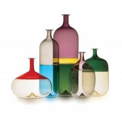 "Beautiful ""bottomed"" coloured glass. The series is