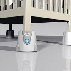 now you can pimp your baby's crib.  get some remote-controlled rocking action and a good night's sleep.  awesome.