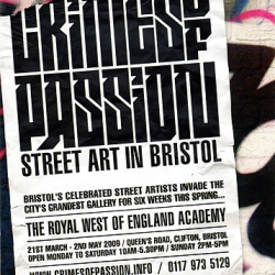 Upcoming show at the RWA (Bristol, UK) featuring a number of amazing artists such as Richt, 45RPM, China Mike and Mr Jago to name but a few. Put it in your calendar!!