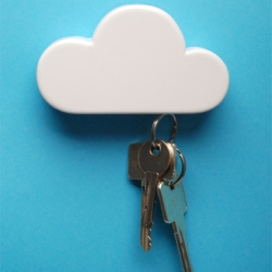 NOW AVAILABLE - Magnetic Cloud Keyholder by Duncan Shotton
