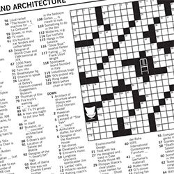 DWR NYT Crossword! For lovers of Design, Architecture, and Crossword Puzzles!