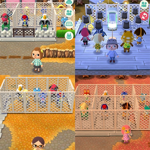 "On Kotaku ""People Are Making Cults and Prisons in Animal Crossing: Pocket Camp"" - Performance art of sorts? Manifesting out of weird simply programmed behaviors?"