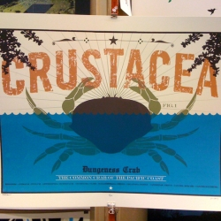 Foodies rejoice! New hand silk screened art depicting a tasty Left Coast favorite.  A Mike Klay / Bobby Dixon collaboration.