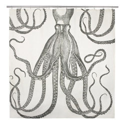 Thomas Paul Octopus Shower Curtain