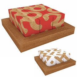 Brooklyn 5 and 10 has stunning Motif Cubes ~ great desk/coffee table gift!