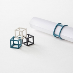 "Nendo's new stationery collection for his own brand 'by |n"" is minimal, practical and elegant."