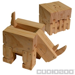 This 100% hand made wooden cube transforms into lively and playful home decor. Reposition them often to maintain the illusion of life for your returning guests. Designer Ryan Prochnau has eco-friendly plans to expand. Including more animals!