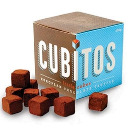 San Churro Cubitos Chocolate cubes or european truffles...