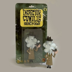 Inspector Cumulus! So cute - so pensive - from Crazy Label x Jonathan Edwards
