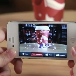 "Starbucks launches ""Cup Magic"" for the holiday season ~ explore the augmented reality characters through their ios/android apps that let you find and scan all five Starbucks Holiday Characters - on Red Cups, Christmas Blend bags, in-store and more."