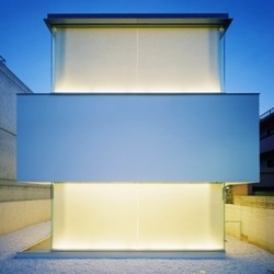 Another minimalistic house by japanese architects Curiosity + Milligram.