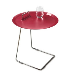 Loving little side tables that can slide under your couch/bed to save space when needed... Porter Tray Table - Jens Pohlmann, Thilo Schwer, and Sybille Fleckenstein, 2008