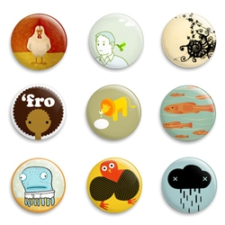 supercute buttons i found on this fun site.  =)