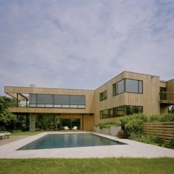 The Cutler Residence in Montauk, New York.