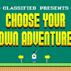 Canadian hip-hop star Classified launches the first ever 'Choose Your Own Adventure' interactive music video experience with a fun 8bit video game inspired website.