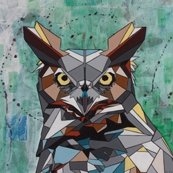 Transcontinental artist, DAAS, recently released his latest body of work, entitled, Geometrics.