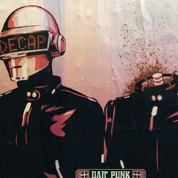Daft Punk + DJ Hero + Decapitator + NY = Wow!