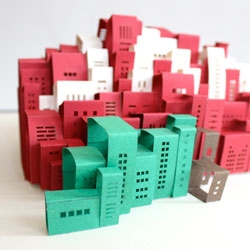 Daisy Lew makes awesome pop-ups of NYC.