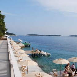 With its dry weather and beautiful sea, the Croatian coast of Dalmatia has become one of the hottest place to worship sun and sea.
