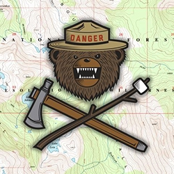 Danger Ranger Bear! Adorable creature from the freshly launched Prometheus Design Werx is now on tshirts and morale patches.