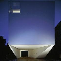 Dancing Living House by Junichi Sampei of A.L.X. (Architect Label Xain) in Yokohoma, Japan.