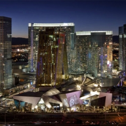 I love the design of MGM mirage's citycenter by Daniel Libeskind.