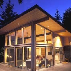 A house on San Juan Island in Washington State  Designed by architect George Suyama