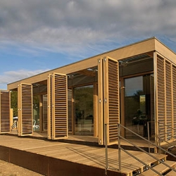 """""""Made in Germany"""" is a phrase that applies well to the Solar Decathlon entry from the Technische Universitat Darmstadt, because the team wants to present the German way of building, showcasing German technologies."""