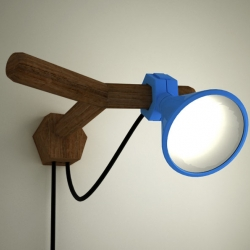 An adjustable reading lamp by DAG-designlab