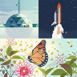 "Kevin Dart ""Science & Nature"" Show at Gallery 1988 looks fantastic! A lot of stunning pieces (and prints!)"