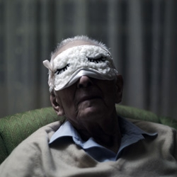 NY Photographer Phillip Toledano's new photo series - a powerful expression of love for his 98 year old father.