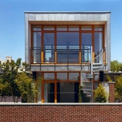 New condos in the Georgetown neighborhood of Washington, DC.  Designed by McInturff Architects.