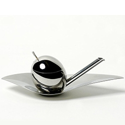 """The """"Taste-huile"""" from Alessi of Italy,  for those who desire a pure experience when sipping olive oil."""