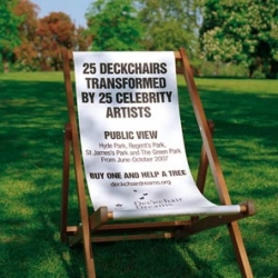 This summer, The Royal Parks Foundation, the charity for London's eight Royal Parks, celebrates a new collection of Deckchair Dreams and boasts a host of contributing artists.