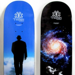 The Imaginary Foundation just released their new line of skateboard decks. I want to hang the whole line on my wall...
