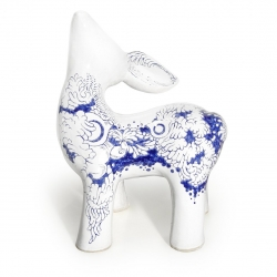 My Dear Deer Friend, series of ceramic hand made sculptures designed for interiors.