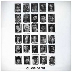 Kids today only know the new degrassi - but does anyone else remember the original class of '88? Other than Young Lovers who made a shirt of their yearbook page in their new collection...