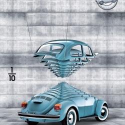 Triple ad campaign for die-cast car model dealer Dekalo