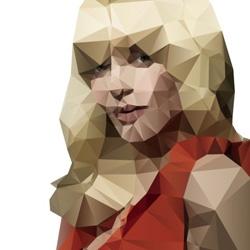 New drawing process using Delaunay image vectorization by Jonathan Puckey.