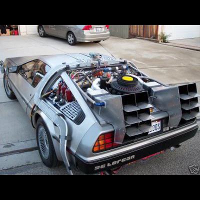 Back to the Future DeLorean for sale on ebay?!?!