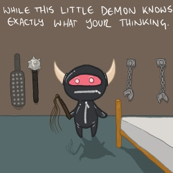 cute little demons, by YEWOT. these are all going to be in a book that will come out later. check the others in his gallery!