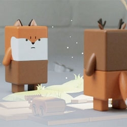 Suwappu toys from Dentsu London come to life with an iPhone prototype app.