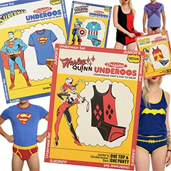 Underoos are back? Hot Topic seems to have brought back saturday morning cartoon underwear... now for adults!