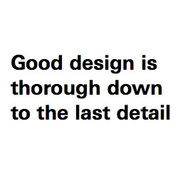 "Vitsoe shares ""Dieter Rams: ten principles for good design"""