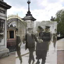 "The Museum of London launches an iPhone app ""Streetmuseum"" that makes use of its extensive art and photographic collections. Through geo tagging and Google Maps, it guides users around London allowing them to look into the past!"