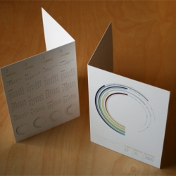 A lovely daylight visualization presented as a Winter Solstice greeting card by Saint Paul designer Todd Zerger.