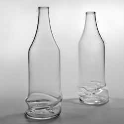 A range of bottles with collapsed bases!!!