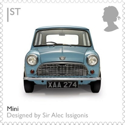 A new set of UK stamps celebrates British design classics