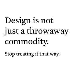 Just 1 of 15 mistakes made by designers in the music & apparel industry.